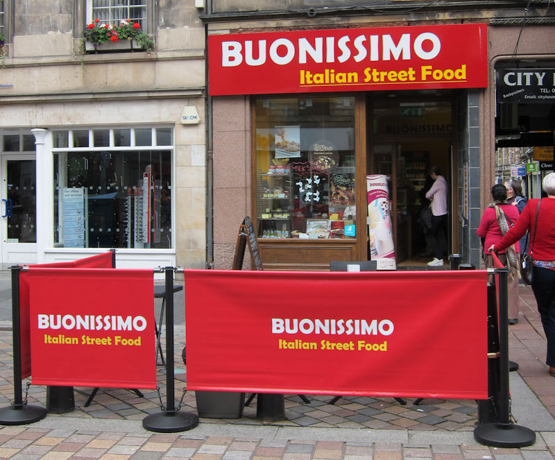 Buonissimo - Italian food in Inverness