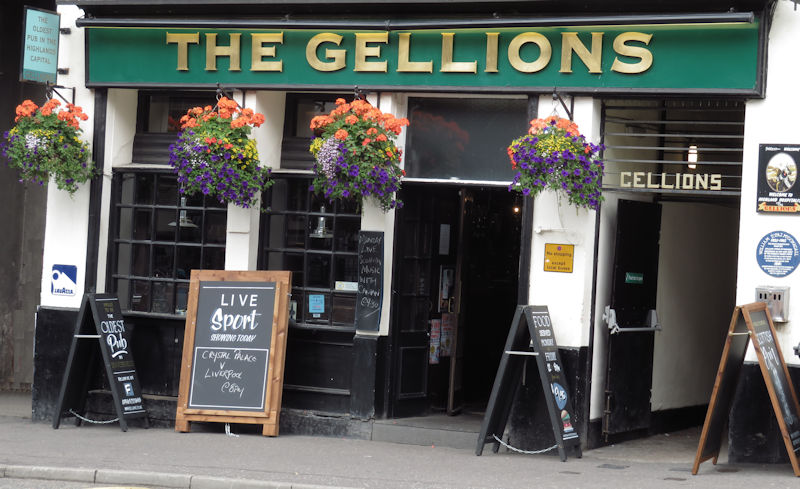 The Gellions pub Inverness