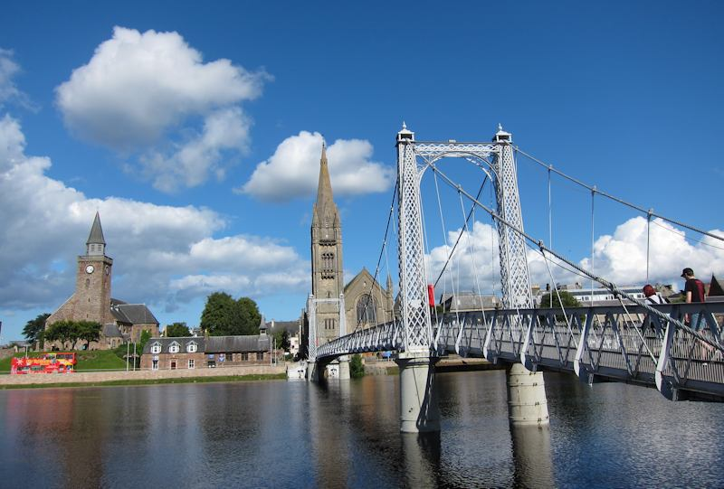 Bridge over the River Ness, Inverness
