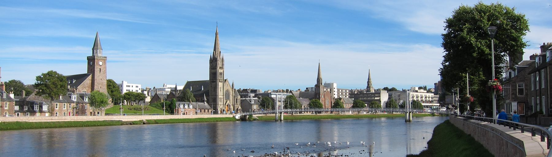 Inverness and the River Ness