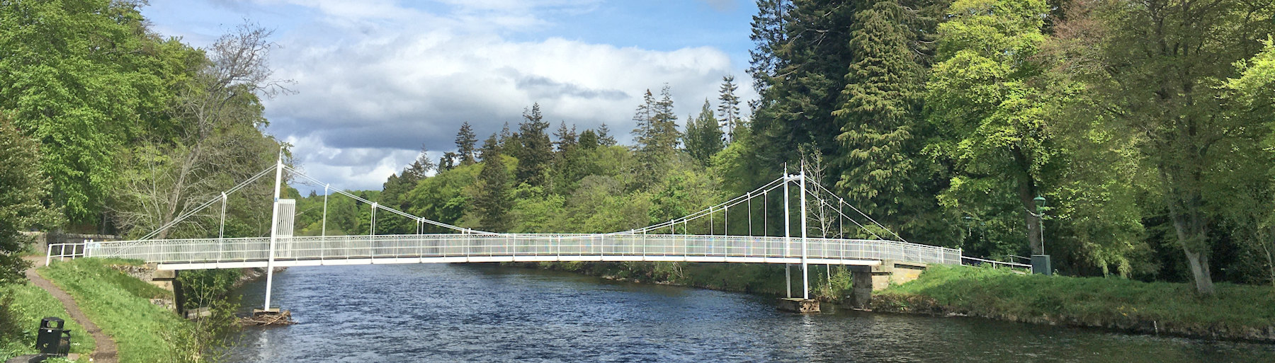 Bridge at the Ness Islands, Inverness
