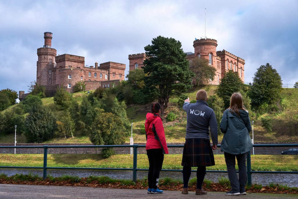 Walking tour of Inverness with WOW Scotland